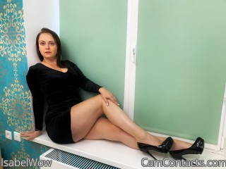 Webcam model IsabelWow from CamContacts