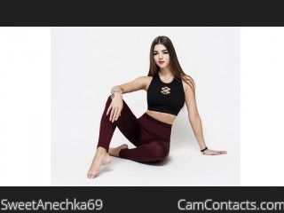 Webcam model SweetAnechka69 from CamContacts