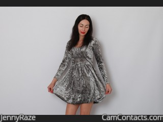 Webcam model JennyRaze from CamContacts