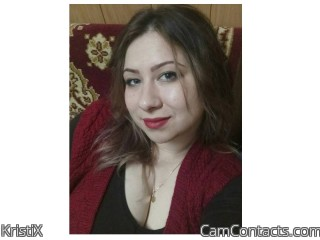 Webcam model KristiX from CamContacts