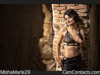 Webcam model MishaMarie29 from CamContacts