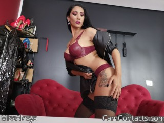 Webcam model MissAlexya from CamContacts