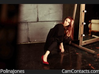 Webcam model PolinaJones from CamContacts