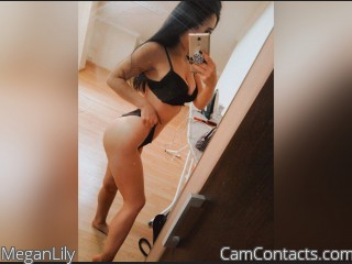 Webcam model MeganLily from CamContacts