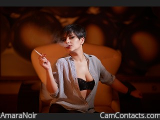 Webcam model AmaraNoir from CamContacts