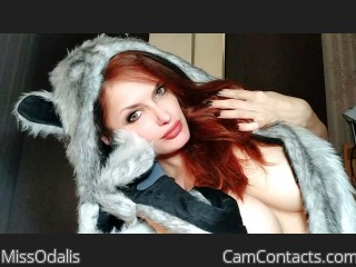 Webcam model MissOdalis from CamContacts