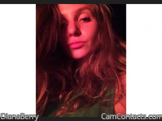 Webcam model DianaBerry from CamContacts