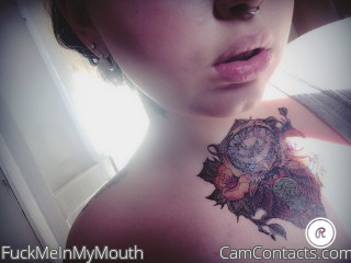 Webcam model FuckMeInMyMouth from CamContacts