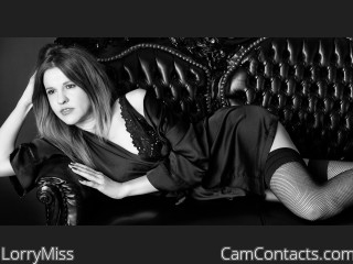 Webcam model LorryMiss from CamContacts
