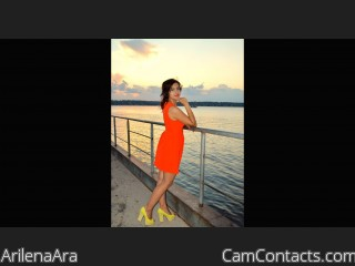 Webcam model ArilenaAra from CamContacts