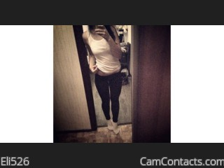 Webcam model Eli526 from CamContacts