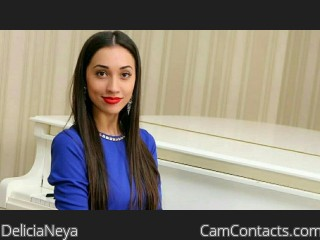 Webcam model DeliciaNeya from CamContacts