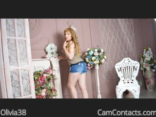 Webcam model Olivia38 from CamContacts