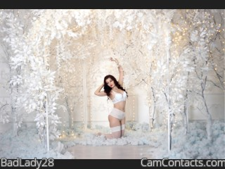 Webcam model BadLady28 from CamContacts