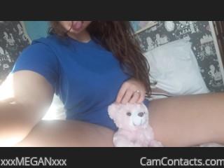 Webcam model xxxMEGANxxx from CamContacts