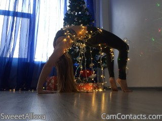 Webcam model SweeetAlllexa from CamContacts