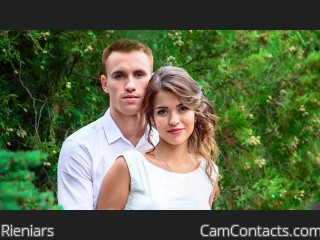 Webcam model Rieniars from CamContacts