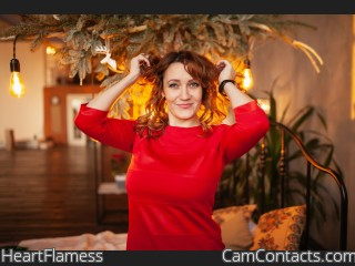 Webcam model HeartFlamess from CamContacts