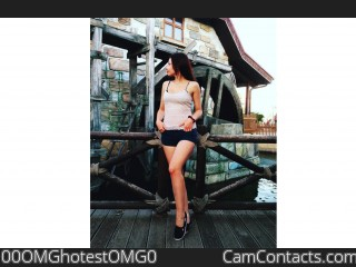 Webcam model 00OMGhotestOMG0 from CamContacts