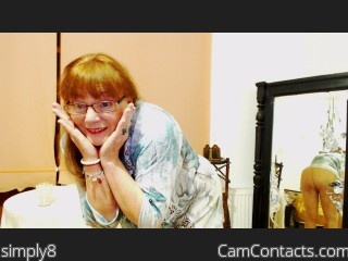 Webcam model simply8 from CamContacts