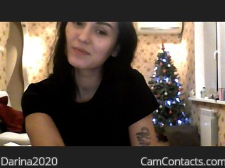 Webcam model Darina2020 from CamContacts