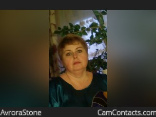 Webcam model AvroraStone from CamContacts