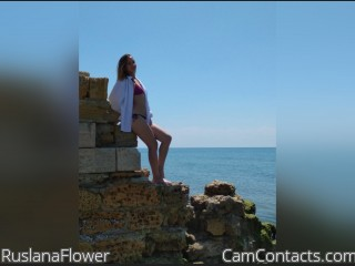 Webcam model RuslanaFlower from CamContacts