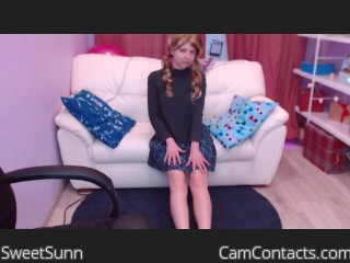 Webcam model SweetSunn from CamContacts