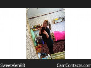 Webcam model SweetAlen88 from CamContacts