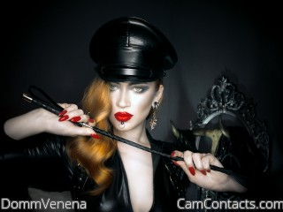 Webcam model DommVenena from CamContacts