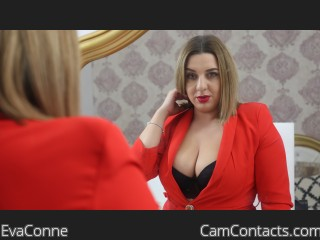 Webcam model EvaConne from CamContacts