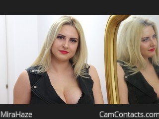 Webcam model MiraHaze from CamContacts