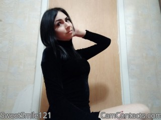 Webcam model SweetSmile121 from CamContacts