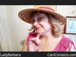 Webcam model LadyBarbara from CamContacts