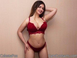 Webcam model CelestaFox from CamContacts