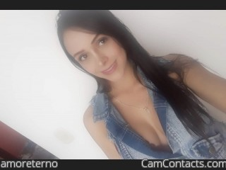 Webcam model amoreterno from CamContacts
