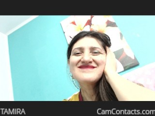 Webcam model TAMIRA from CamContacts