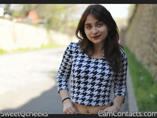 Webcam model SweetQcheeks from CamContacts