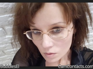 Webcam model BubblesEl from CamContacts