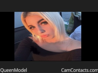 Webcam model QueenModel from CamContacts