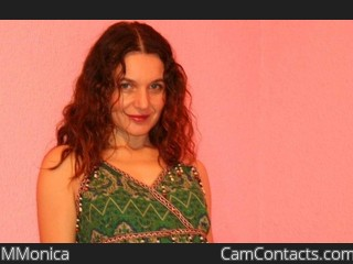Webcam model MMonica from CamContacts
