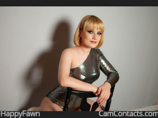 Webcam model HappyFawn from CamContacts