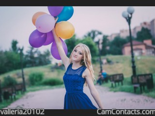 Webcam model valleria20102 from CamContacts