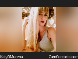 Webcam model KatyOMurena from CamContacts