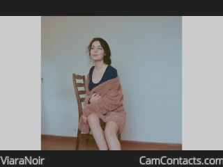 Webcam model ViaraNoir from CamContacts