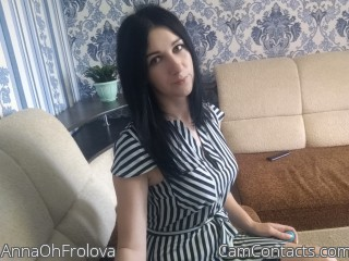 Webcam model AnnaOhFrolova from CamContacts