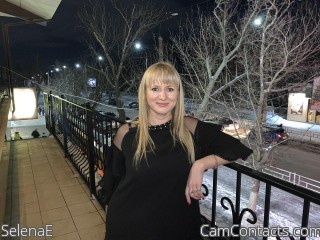 Webcam model SelenaE from CamContacts