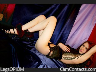 Webcam model LegsOPIUM from CamContacts