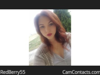 Webcam model RedBerry55 from CamContacts