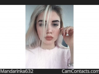 Webcam model Mandarinka632 from CamContacts
